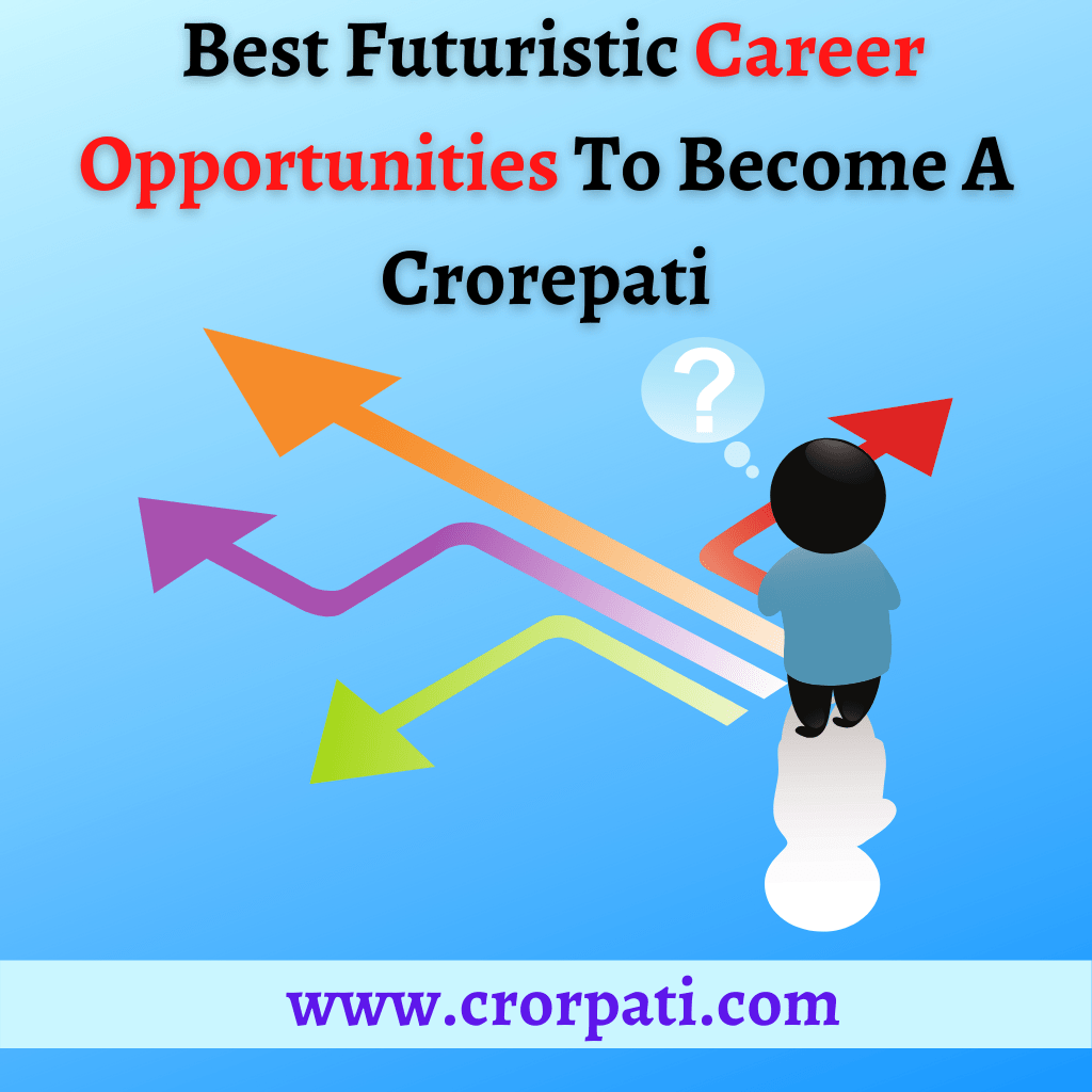 Career Opportunities to become a Crorepati